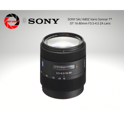 Sony SAL1680Z Vario Sonnar T* DT 16-80mm F3.5-4.5 ZA Lens