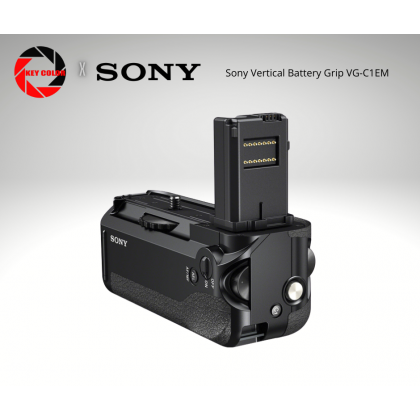 Sony Vertical Battery Grip VG-C1EM for Sony ILCE - A7, A7R, A7S Full Frame Digital Camera