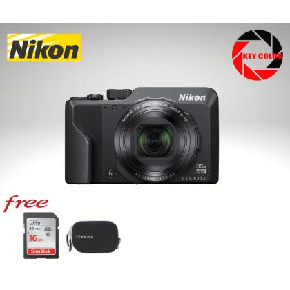 Nikon Coolpix A1000 + Nikon Coolpix Case + 16GB HighSpeed Card (Futuromic Warranty)