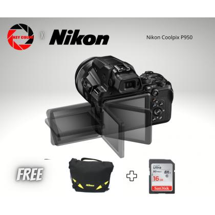 Nikon Coolpix P950 + Nikon Bag + 16GB HighSpeed Card