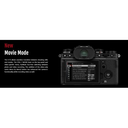 FUJIFILM X-T4 Mirrorless 18-55mm Kit + Sandisk Extreme Pro 32GB UHS-II + Strap + Fujifilm Mug (Fujifilm Malaysia Warranty)