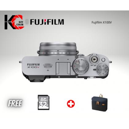 Fujifilm X100V + 32GB (Fujifilm Malaysia Warranty)