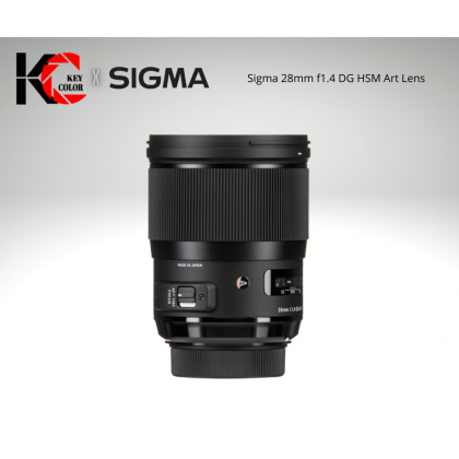Sigma 28mm f1.4 DG HSM Art Lens for Canon EF (2 Years + 6 Month Warranty)