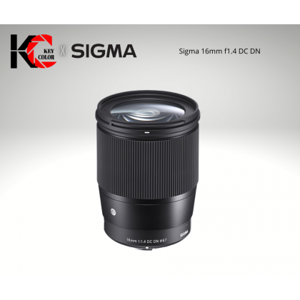 Sigma 16mm f1.4 DC DN Contemporary Lens (2 Years + 6 Month Warranty)