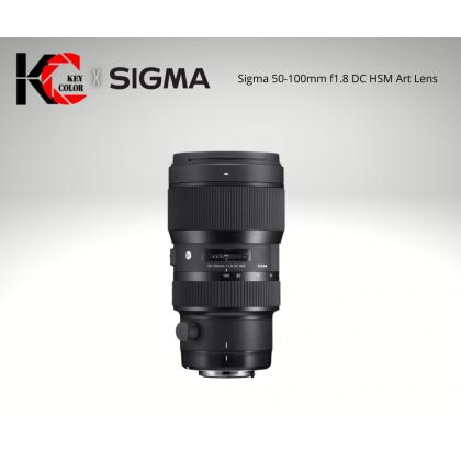 Sigma 50-100mm f1.8 DC HSM Art Lens (2 Years + 6 Month Warranty)