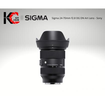 Sigma 24-70mm f2.8 DG DN Art Lens (2 Years + 6 Month Warranty)