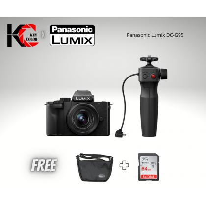 Panasonic Lumix G100 Mirrorless Digital Camera with 12-32mm Lens + Sandisk 64GB + Panasonic Bag (2 Year Panasonic Malaysia Warranty)